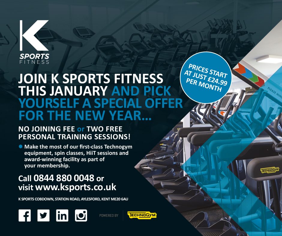 JOIN K SPORTS FITNESS THIS JANUARY
